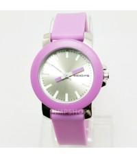 นาฬิกาข้อมือผู้หญิง HOOPS เรือนสีม่วง