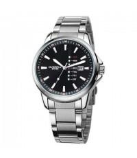 นาฬิกาข้อมือชาย EYKI รุ่น OVERFLY ซีรี่ หน้าปัดสีดำ สายเหล็ก