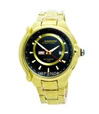 นาฬิกาข้อมือ US SUBMARINE แท้ หน้าปัดวงแหวนสีทอง เรือนทอง