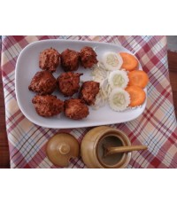 VEGETABLE PAKORA-เวสเจสเทเบิล ปาโกรา-ร้านอาหารอินเดียที่อร่อยต้องที่ร้านอาหารอินเดียทัชมาฮาลในโคราช