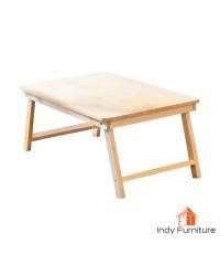 โต๊ะพับไม้สน ออสเตรเลีย ขนาด 60x40 สูง28 ซม. สีธรรมชาติ