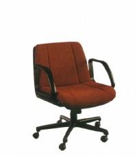 เก้าอี้สำนักงาน เก้าอี้ทำงาน รุ่นDC-03หุ้มหนัง