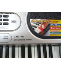คีบอร์ด keyboard CASIO LK-45