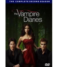 The Vampire Diaries Season 2 : บันทึกรักเทพบุตรแวมไพร์ ปี 2 / 5 DVD [Sub Thai] Master Zone3