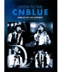 Listen To The CNBLUE: 1st Live Concert 2010 @ AX-Korea (Thai Sub) 1 DVD