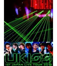 [U-KISS] 1ST Japan Live Tour 2012 (Zepp Tokyo) (2013.03.25) (Master) 2 dvd