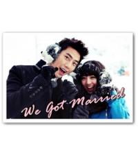 Global We Got Married TaecYeon (แทคยอน 2PM)  GuiGui (กุ่ยกุ่ย) Ep.01-Ep.05 : 1 DVD [Sub Thai]