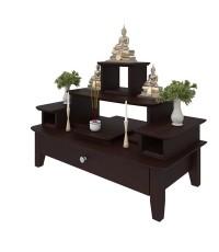 โต๊ะหมู่บูชาหมู่ 5 Buddha Console Espresso color