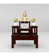 โต๊ะหมู่บูชาซีรี่ส์ 5 Buddha Series 5 Espresso color