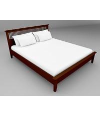 เตียง 6 ฟุต Breeze BED  Espresso color