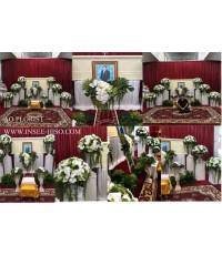 บริการจัดดอกไม้หน้าหีบศพ, ดอกไม้หน้าศพ ,หน้าหีบศพ ,หน้าโลงศพ,รับจัดดอกไม้งานศพ
