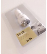 Vox Dual USB Car Charger VMC4 2A