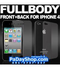 [2015] ชุดฟิลม์ใส หน้า+หลัง iPhone 4 / 4S ชุดละ 19บาท เท่านั้นนนนน