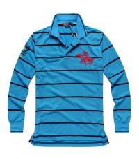 (พร้อมส่ง)เสื้อโปโลแขนยาวผู้ชาย Ralph Lauren long sleeve Polo  นำเข้าจากต่างประเทศ ของแท้