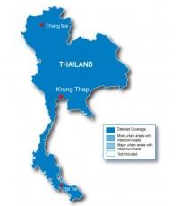บริการแผนที่ให้เช่า - Data Card Thailand Street Map
