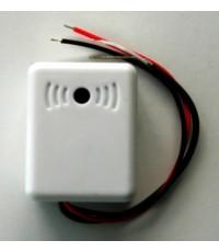 ไมโครโฟน สำหรับระบบกล้องวงจรปิด แบบปรับเสียง ป้องกันเสียงหอนได้