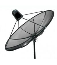 จานรับสัญญาณดาวเทียม PSI 1.5 SW แบบ Fix ระบบ C Band(ชิ้นเดียว)