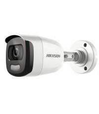 กล้องวงจรปิด Hikvision รุ่น DS-2CE10DFT-F  4 ระบบ CCTV 2MP ColorVu 20m. ภาพสีทั้งกลางวัน-กลางคืน