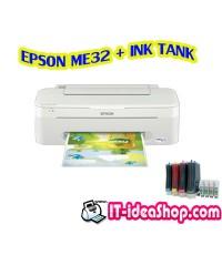EPSON ME32 + INK TANK