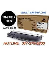 หมึกพิมพ์โทเนอร์ TN-240 BK สำหรับ BROTHER HL-3040CN,3070CW,DCP-9010CN,MFC-9120CN,9320CW