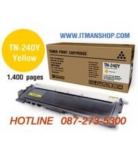 หมึกพิมพ์โทเนอร์ TN-240 Y สำหรับ BROTHER HL-3040CN,3070CW,DCP-9010CN,MFC-9120CN,9320CW