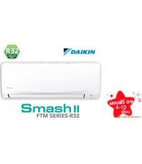 ไดกิ้น Smash II (new) น้ำยา R32 รุ่น FTM24PV2S/RM24PV2S