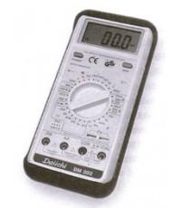 ดิจิตอลมัลติมิเตอร์ + วัดค่าความจุไฟฟ้า (C) + ความถี่ รุ่น DM 202