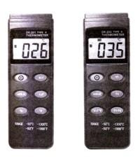 เครื่องวัดอุณหภูมิ แบบดิจิตอล DK-201,DK-202