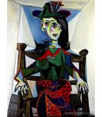 ขายภาพวาดสีน้ำมัน ภาพวาดรีโปรดักชั่น Dora Maar au Chat