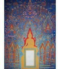 ขายภาพวาดสีน้ำมัน ภาพวาดตกแต่งห้อง ภาพวาดประตูสู่ธรรม(Original) Limited Edition