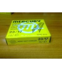 ลวดเย็บเมอร์คิวรี่ เบอร์23/17 Mercury (1,000ตัว/กล่อง)