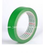 กระดาษกาวสี ยูนิเทป ขนาด1นิ้วx20y. แกน3นิ้ว สีเขียว
