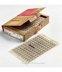 สันขดลวดRENZ 3:1ขนาด8 มม(5/16นิ้ว)  34ข้อ (A4)สีขาว  บรรจุ100อัน/กล่อง