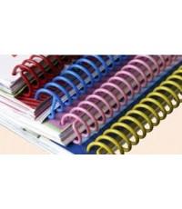 สันเกลียวพลาสติก PVC coilbinding ขนาด 45 มม. 30อัน/แพ็ค