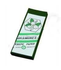กระดาษย่น 2 หน้า No.22 สีเขียวขี้ม้า