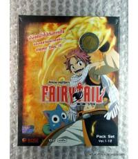 vcd Fairy Tail /rose vcd ศึกจอมเวทอภินิหาร 1(พากย์ไทย) (pack set vol. 1-12) /rose