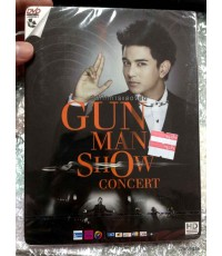 dvd บันทึกการแสดงสด GUN MAN SHOW-Concert