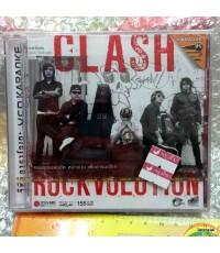 vcd Clash Rockvolution / MGA เจาะกล่องด้านข้าง + กล่องร้าวเล็กน้อย