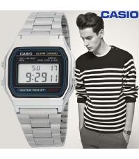 นาฬิกาข้อมือสายสเตนเลส Casio Standard รุ่น A-178WA-1D
