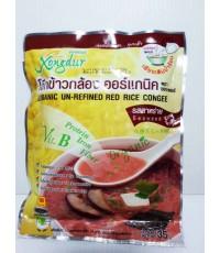 โจ๊กข้าวหอมมะลิแดงผสมผัก ซองเดอร์ 35g
