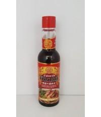 น้ำมันงาจีน ตรามังกรคู่ Chinese Style Sesame Oil.(100ml)
