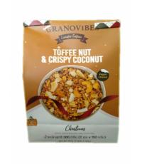 กราโนไวบ์ Toffee nut & crispy coconut(150gx2s)