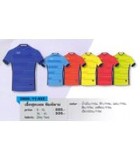 เสื้อฟุตบอล พิมพ์ลาย code 11-433 size XL สีน้ำเงินกรม อก 43 นิ้ว ยาว 29 นิ้ว