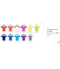 เสื้อฟุตบอลคอปก (เด็ก) code 11-517 size 32 สีส้มส้ม