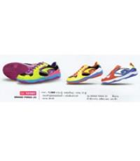 รองเท้าฟุตซอลหนังแท้ + หนังสังเคราะห์ รุ่น Grand Forza Z3 code 337007 size 44 สีเขียวม่วง