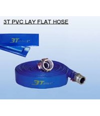 3T PVC LAY FLAT HOSE สายส่งน้ำพีวีซี