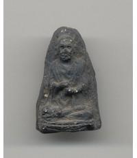 วัดประสาทบุญญาวาส พ.ศ. 2506 เนื้อผงองค์ที่ 10 พิมพ์สมเด็จโต สีดำ