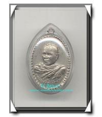หลวงพ่อทิม วัดช้างให้ เหรียญรุ่นแรกครึ่งองค์เนื้ออัลปาก้า พ.ศ.2508