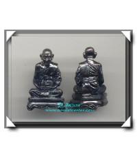 หลวงปู่ชุนหมิง วัดบางแก้ว รูปหล่อเนื้อโลหะรมดำ