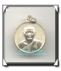 หลวงพ่อแพ วัดพิกุลทอง เหรียญทำบุญอายุ 87 ปี พ.ศ.2533 เนื้อเงิน